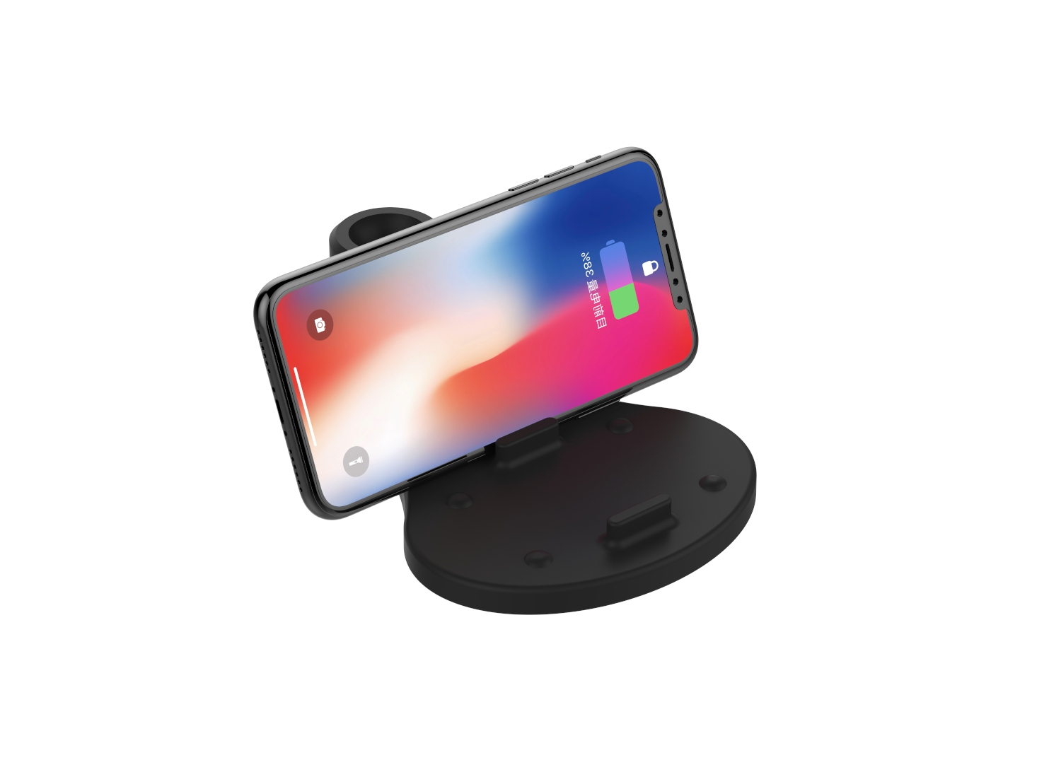 KW-019  3 IN 1 FAST WIRELESS CHARGER