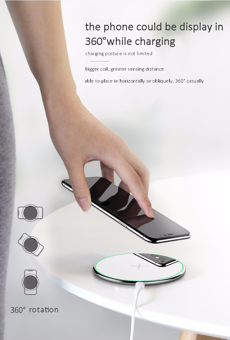 009 DESK FAST WIRELESS CHARGER